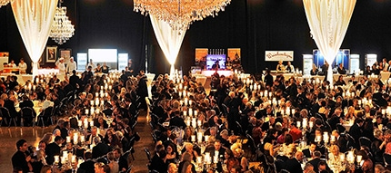 Gala event at the Convention Center